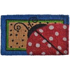Ladybug Dots Doormat