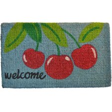 Welcome Cherry Mat