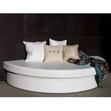 Demi-Lune Outdoor Platform Bed