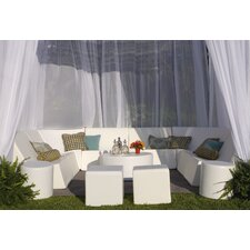 <strong>La-Fete</strong> Romp Cabana 13 Piece Bench Seating Group