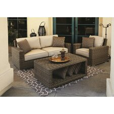 <strong>Sunset West</strong> Coronado Loveseat with Cushions