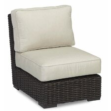 Cardiff Armless Club Chair with Cushions