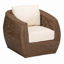 <strong>Sunset West</strong> Huntington Swivel Deep Seating Club Chair