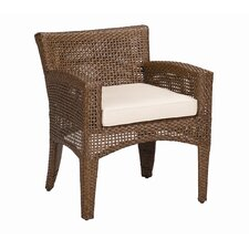 <strong>Sunset West</strong> Huntington Dining Arm Chair with Cushion