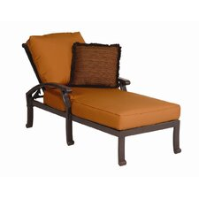 <strong>Sunset West</strong> Newport Chaise Lounge with Cushion