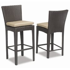 <strong>Sunset West</strong> Malibu Barstool with Cushion