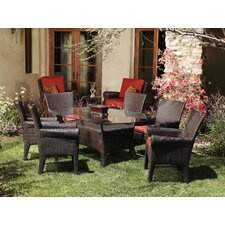 <strong>Sunset West</strong> Santa Barbara 5 Piece Dining Set