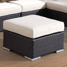 <strong>Sunset West</strong> Solana Ottoman with Cushion