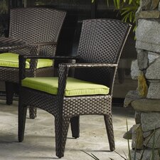 <strong>Sunset West</strong> Malibu Dining Arm Chair with Cushion