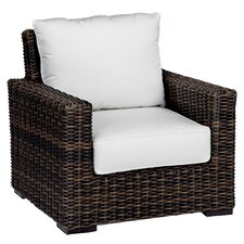<strong>Sunset West</strong> Montecito Deep Seating Club Chair with Cushions