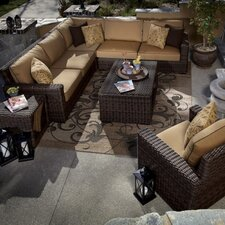 <strong>Sunset West</strong> Montecito Deep Seating Group with Cushions