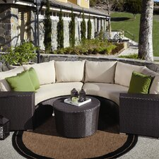 <strong>Sunset West</strong> Solana Deep Seating Group with Cushions