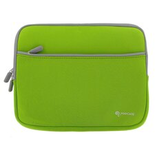 Dual Pocket Neoprene Sleeve Invisible Zipper Case