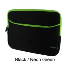 "Super Bubble Neoprene Sleeve Case for 11.6"" Netbook"
