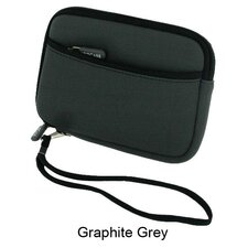"Neoprene Sleeve Carrying Case for Portable Hard Drive and 4.3"" GPS"
