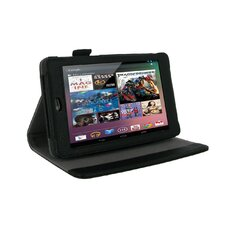 Multi-Angle Vegan Leather Folio Case Cover for Nexus 7