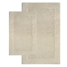 Naples Contemporary Bath Rug (Set of 2)