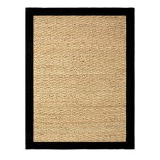 Seagrass Beige/Black Area Rug