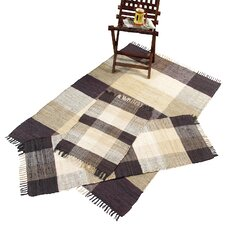 Check Chindi Natural 3 Piece Accent Rug Set