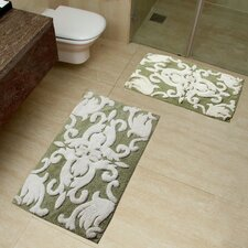 Iron Gate 2 Piece Bath Rug Set
