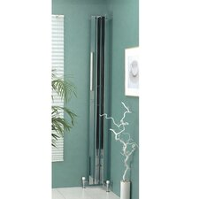 Corner Piece Floor Mount / Wall Mount Electric Towel Warmer