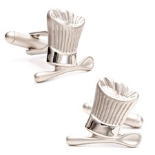 Chef's Hat and Spoon Cufflinks