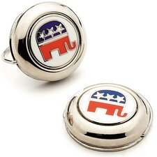Republican Elephant Button Covers