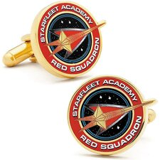 Star Trek Red Sqaudron Cufflinks