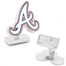 MLB Palladium Plated Cufflinks