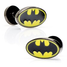 <strong>Cufflinks Inc.</strong> Oval Batman Logo Cufflinks