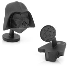 <strong>Cufflinks Inc.</strong> Star Wars 3-D Darth Vader Head Cufflinks