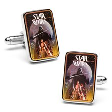 Vintage Star Wars Episode 4 Movie Poster Cufflinks