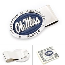 NCAA Pewter Money Clip