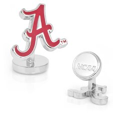 NCAA Palladium Plated Cufflinks
