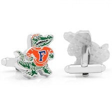 NCAA Rhodium Plated Vintage Cufflinks