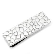 Metal Mosaic Money Clip