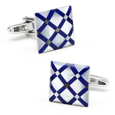 Diamond Pattern Cufflinks