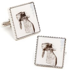 Coldplay Classic Album Cover Stamp Cufflinks