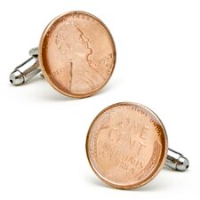 Wheat Penny Cufflinks