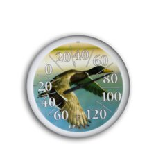 "<strong>Headwind Consumer Products</strong> 13.25"" Dial Thermometer w/ Mallard"