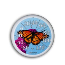 "<strong>Headwind Consumer Products</strong> 13.25"" Dial Thermometer w/ Butterfly"