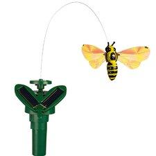 Solar Powered Fluttering Bumblebee Garden Stake