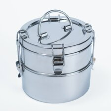 Two Tier Stainless Steel Tiffin