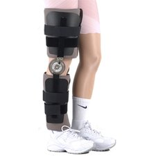 Post Operative Range of Motion Knee Brace with Plates