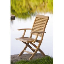 Monterey Folding Arm Chair