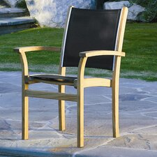 St.Tropez Stacking Dining Arm Chair
