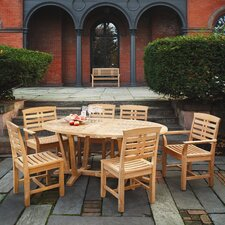<strong>Kingsley Bate</strong> Mandalay 7 Piece Dining Set