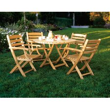 <strong>Kingsley Bate</strong> Newport 5 Piece Dining Set