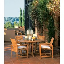 <strong>Kingsley Bate</strong> Amalfi 5 Piece Dining Set