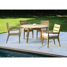 <strong>Kingsley Bate</strong> Algarve 5 Piece Dining Set